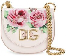 Dolce & Gabbana - Wifi crossbody bag - women - Calf Leather - One Size - PINK & PURPLE