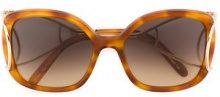 Chloé Eyewear - Occhiali da sole 'Jackson' - women - Acetate/Metal (Other) - OS - NUDE & NEUTRALS