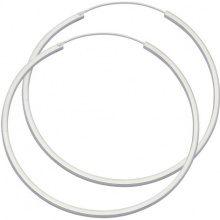 E-11296 - Orecchini a cerchio da donna, argento sterling 925