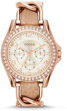 Fossil Orologio Analogico Donna con Cinturino in Pelle ES3466
