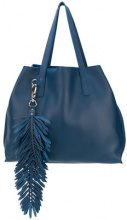 P.A.R.O.S.H. - Borsa Shopper 'Coral' - women - Leather - OS - Blu