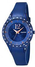 Calypso-Orologio da donna al quarzo con Display analogico e cinturino in plastica, colore: blu, K5660/6