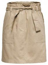 ONLY Detailed Skirt Women Beige