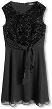 ESPRIT Collection 106EO1E015, Vestito Donna, Nero (Black), 42 (Taglia Produttore: X-Large)