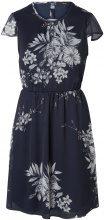 VERO MODA Feminine Short Sleeved Dress Women Blue
