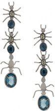 Camila Klein - Longo Formigas earrings - women - Metal (Other) - OS - Metallizzato