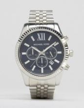 Michael Kors - MK8280 Lexington - Orologio cronografo argento