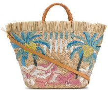 Aranaz - Borsa a mano 'Sunset' - women - Straw - OS - Color carne & neutri