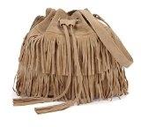 Minetom Nappe Borsa A Tracolla Borsa Faux Suede Cross-body Shoulder delle nuove donne di modo delle borse del sacchetto