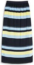 ESPRIT 057ee1d002, Gonna Donna, Multicolore (Navy), 34 (Taglia Produttore: X-Small)