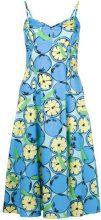 Boutique Moschino - Abito stampato - women - Cotone - 38, 44, 46, 48 - BLUE