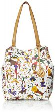 piero guidi Magic Circus Borsa Tote, 32 cm, Bianco