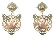 Desigual Orecchini a pendolo e goccia Donna ottone - 18WAGO458010U