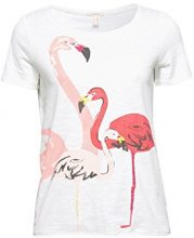 ESPRIT 068ee1k029, T-Shirt Donna, (off White 110), X-Small