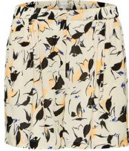 SELECTED Printed - Shorts Women Beige