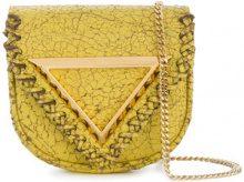 Giaquinto - Borsa a tracolla 'Candy' - women - Leather - OS - Giallo & arancio