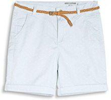 edc by Esprit 047cc1c015, Shorts Donna, Blu (Pastel Blue), 36