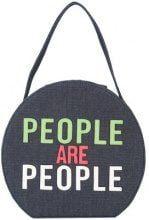 Christian Siriano - People Are People shoulder bag - women - Polyester - OS - BLUE