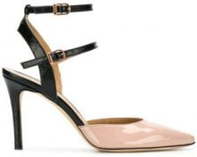 Marc Ellis - Sandali a punta - women - Leather/Patent Leather - 36, 37, 38, 39, 40 - NUDE & NEUTRALS