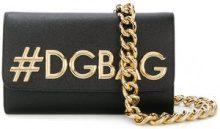 Dolce & Gabbana - Borsa a spalla 'DG Millennials' - women - Calf Leather - One Size - BLACK