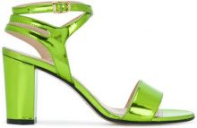 Marc Ellis - Sandali metallici - women - Leather - 36, 37, 38, 39, 40 - GREEN