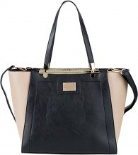 Borsa bicolore (Nero) - bpc bonprix collection
