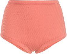 Fella - Parte inferiore bikini 'Marco' - women - Spandex/Elastane/Polyimide - M - PINK & PURPLE