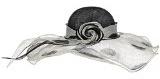 Doty Sinamay Cappello da Donna McBURN cappello occasione cappello matrimonio cappello da sposa