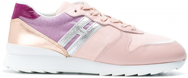 Hogan - Sneakers  Running  - women - Suede Calf Leather Leather ... 253990a55ee