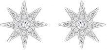 Swarovski–Orecchini da donna platinata cristallo trasparente taglio rotondo di 5230284
