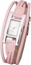 Orologio con cinturino intrecciato (rosa) - bpc bonprix collection