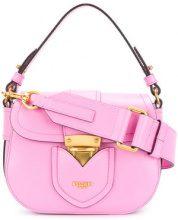 Moschino - Mini borsa a spalla - women - Leather - One Size - PINK & PURPLE