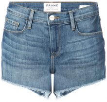 Frame Denim - denim shorts - women - Cotton/Polyester/Spandex/Elastane - 25, 26, 27, 28, 29, 30, 31 - BLUE