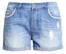 VMPAULA  - Shorts di jeans - light blue denim