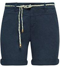 ESPRIT 998ee1c800, Pantaloncini Donna, Blu (Navy 400), 44 (Taglia Produttore: 38)