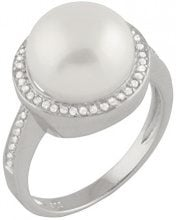 Bella Pearls Donna FINERING, argento, 52 (16.6), cod. RS-103-L