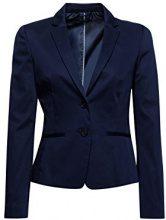 ESPRIT Collection 998eo1g801, Blazer Donna, Blu (Navy 400), 42