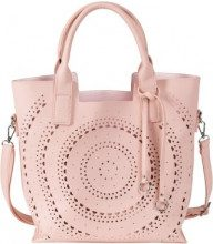 Borsa con traforo al laser (rosa) - bpc bonprix collection