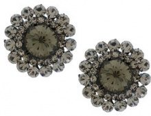 Serpui - embellished earrings - women - metal - OS - BLACK