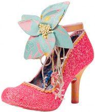 Irregular Choice Sweet Melody, Scarpe con Cinturino Alla Caviglia Donna, Pink (Pink), 38 EU