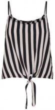 ONLY Striped Singlet Women Black