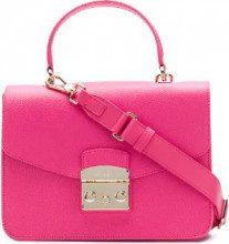 Furla - Metropolis satchel - women - Leather - One Size - Rosa & viola