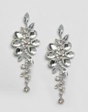 ASOS Wedding - Orecchini pendenti con fiori rampicanti