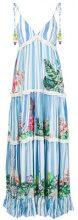 Rococo Sand - Vestito lungo a righe - women - Viscose - S, M - BLUE