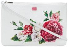 Dolce & Gabbana - Cleo clutch bag - women - Calf Leather - One Size - WHITE