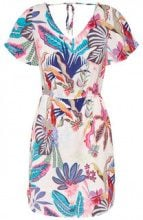 ONLY Printed Dress Women White