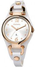 Orphelia OR53170781 - Orologio da polso donna, pelle, colore: bianco