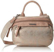 Tamaris Ava Bowling Bag - Borse a secchiello Donna, Gold (Copper Comb.), 25x14x26 cm (B x H T)