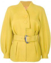 - Thierry Mugler Vintage - Mugler jacket - women - lana vergine - 42 - di colore giallo