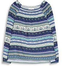 ESPRIT 047ee1f002, Camicia Donna, Multicolore (Off White), 38